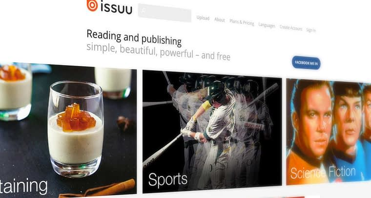 ISSUU Review ▷ Try this awesome and free alternative!