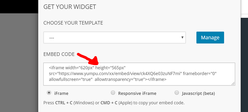 Embed Code on YumpuPublishing