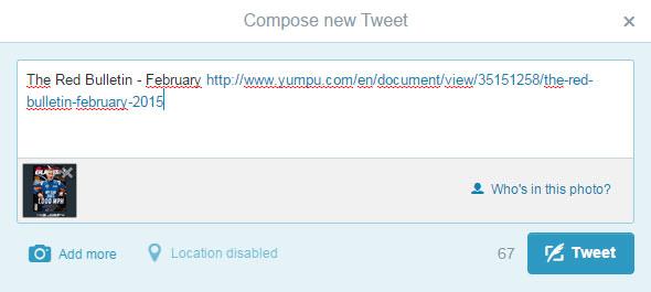 compose new tweet on twitter
