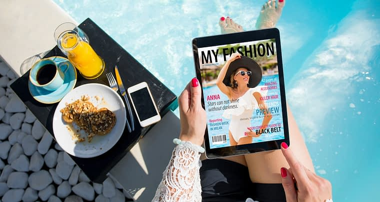 Read online magazine and always be up to date
